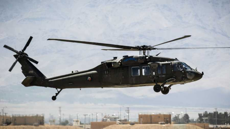 UH-60 Blackhawk helicopter