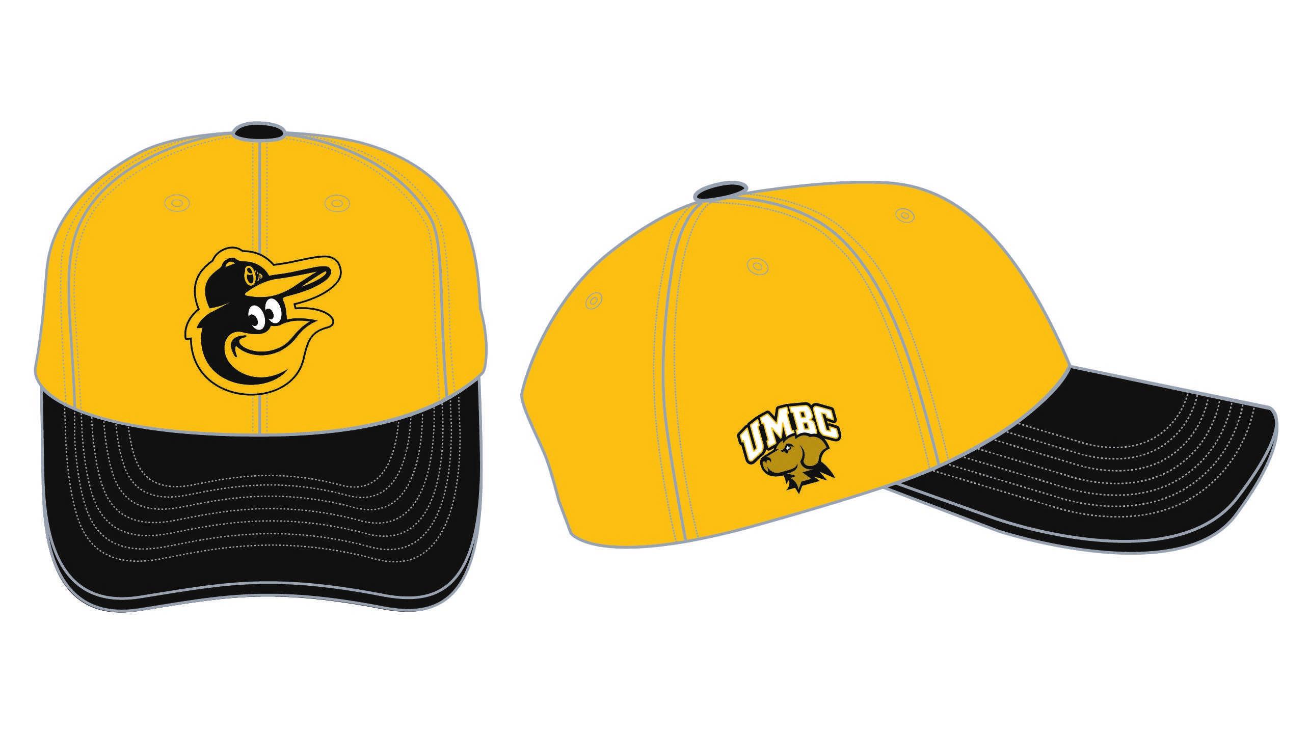 UMBC Orioles hat