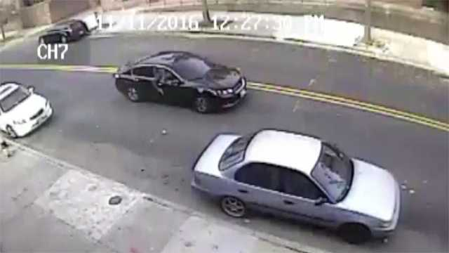 car sought in Lexington Street shooting