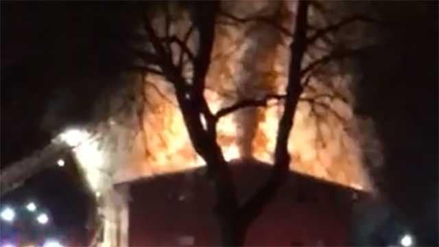 Randallstown fire