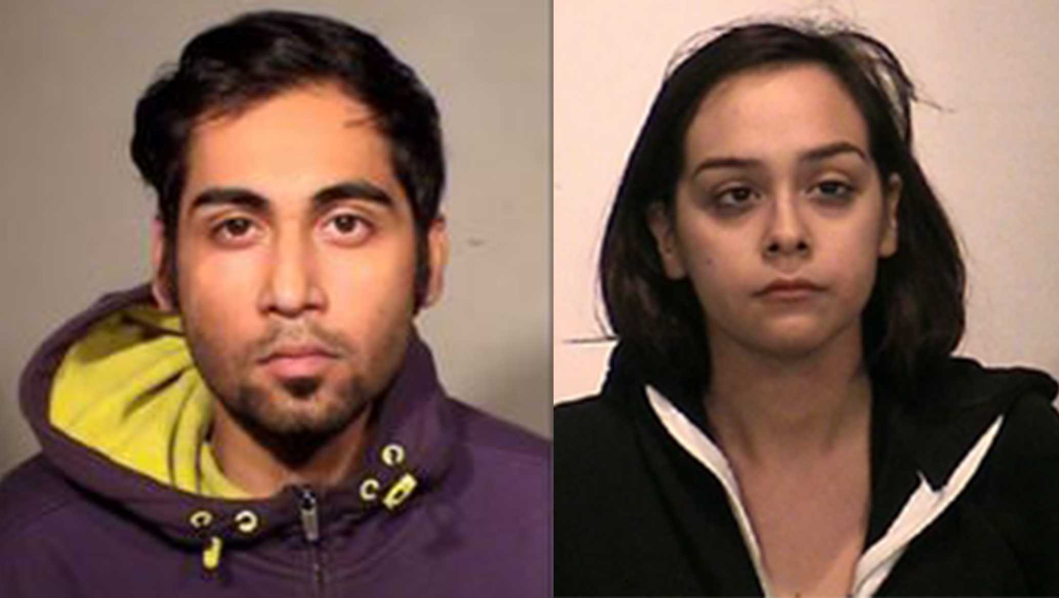 Modesto man, woman arrested in connection to a series of armed robberies at local Subway restaurants. Jan. 28, 2017