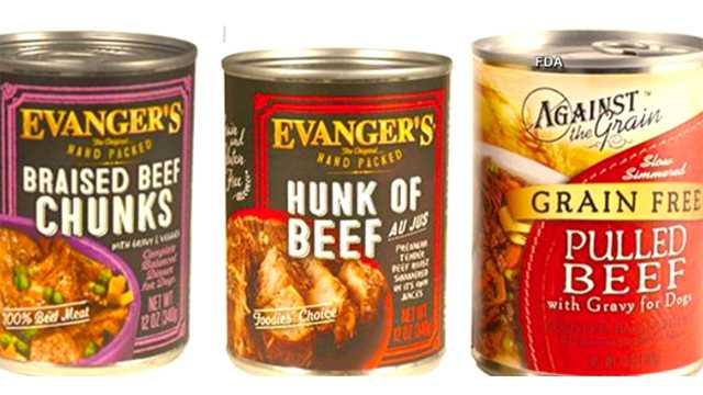 Evanger's pet food recall