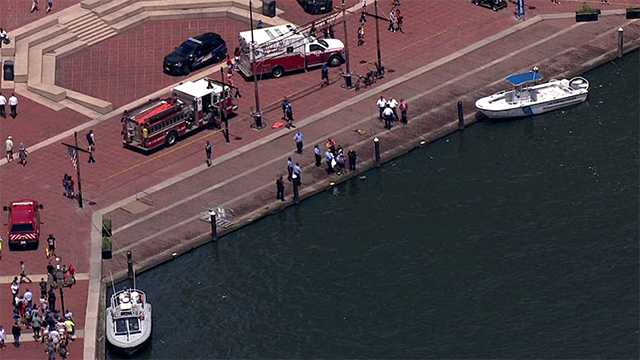 body reportedly found in Inner Harbor