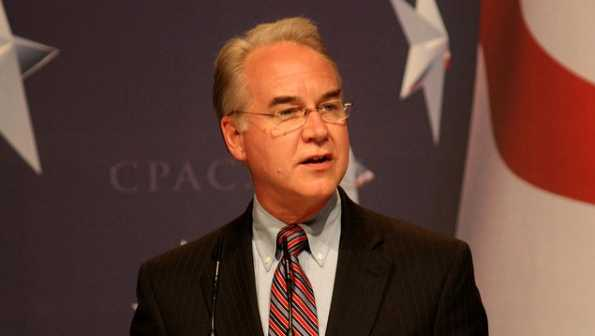 Georgia Rep. Tom Price speaks at CPAC.