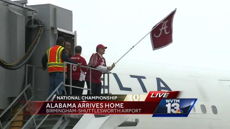 Alabama returns home