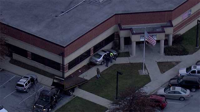 Randallstown Post Office crash