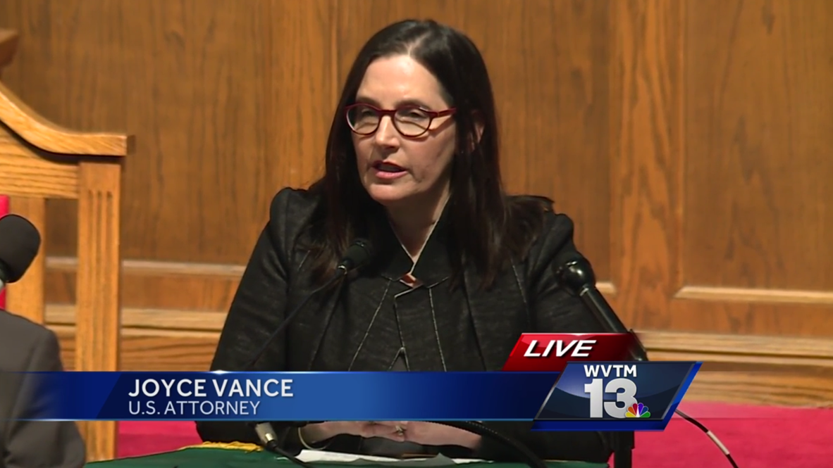 US Attorney Joyce Vance