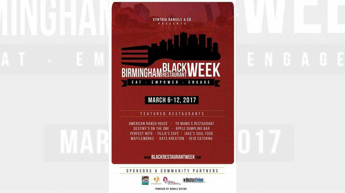 Birmingham Black Restaurant Week