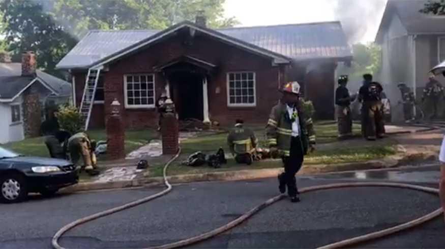 Ensley house fire