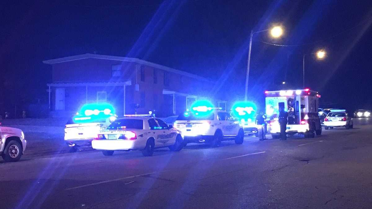 Birmingham police said a man was shot twice in the leg on 41st Street North Friday night.