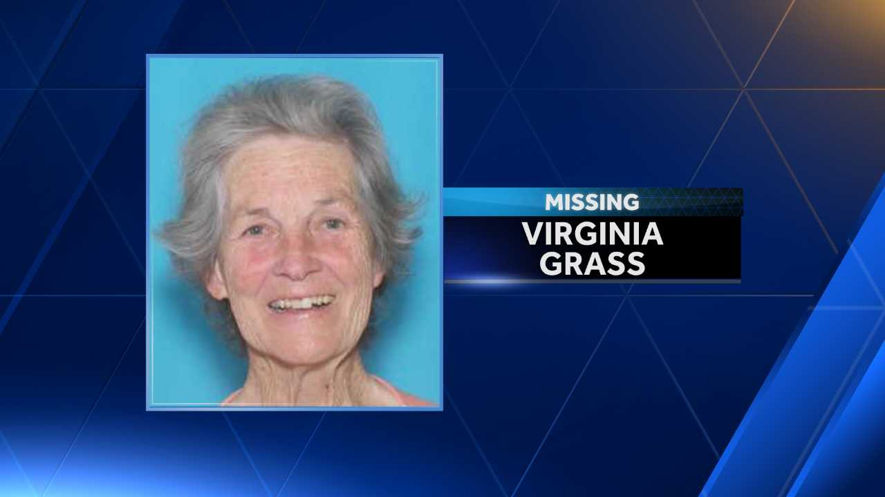 Virginia Grass suffers from dementia and disappeared from her home in St. Clair County.