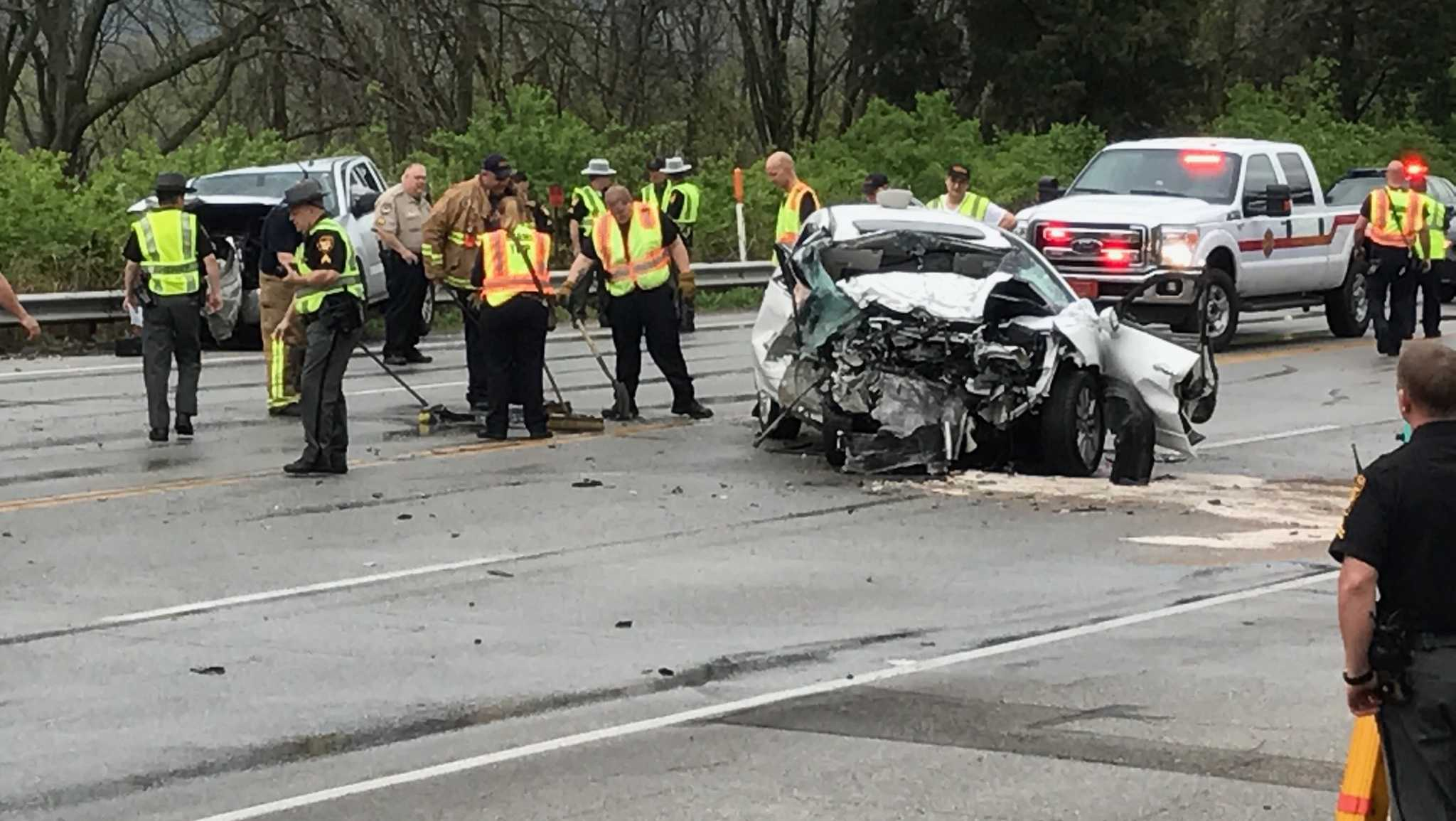A crash on U.S. 50 closed the highway April 11, 2017