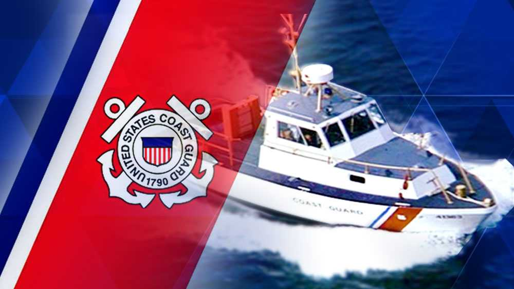 US Coast Guard Flag and Cutter