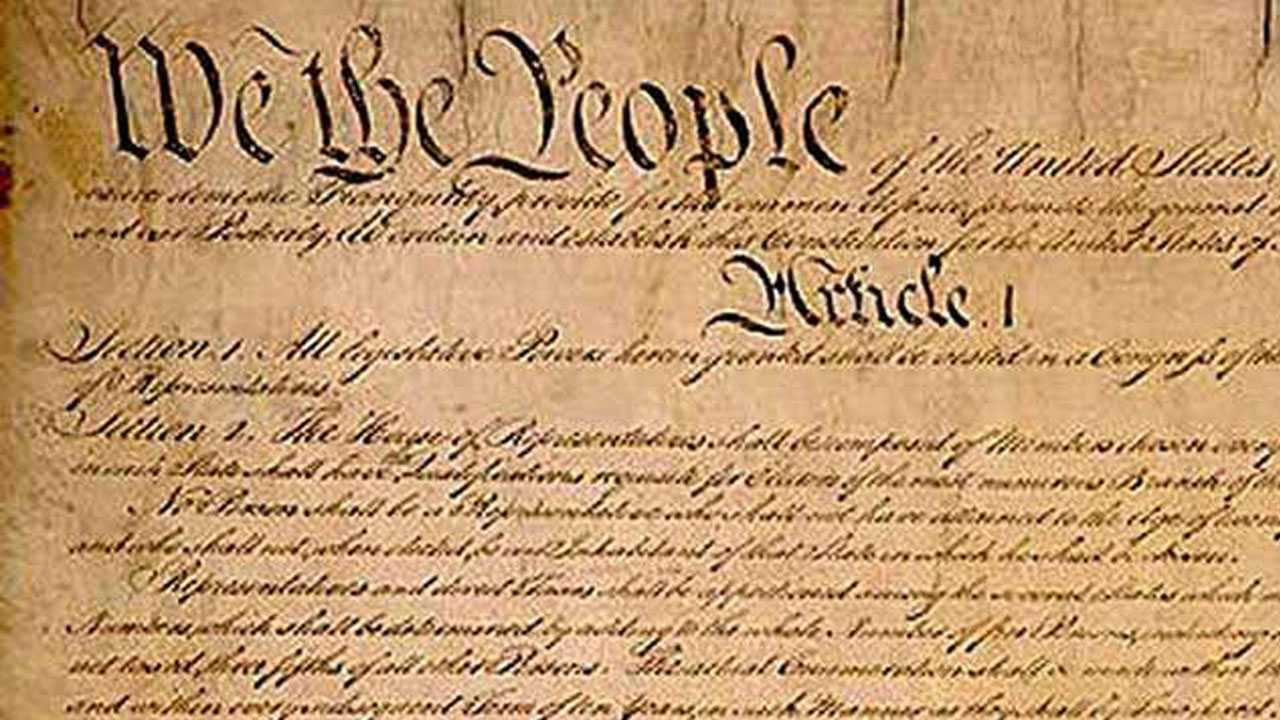 Constitution, We the people