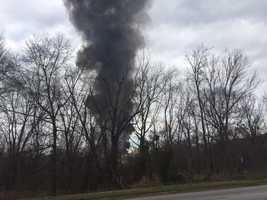 US Finishing Mill fire