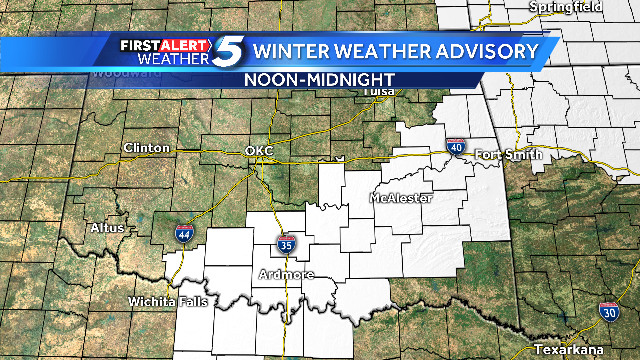 Winter Weather Advisory issued for the tri