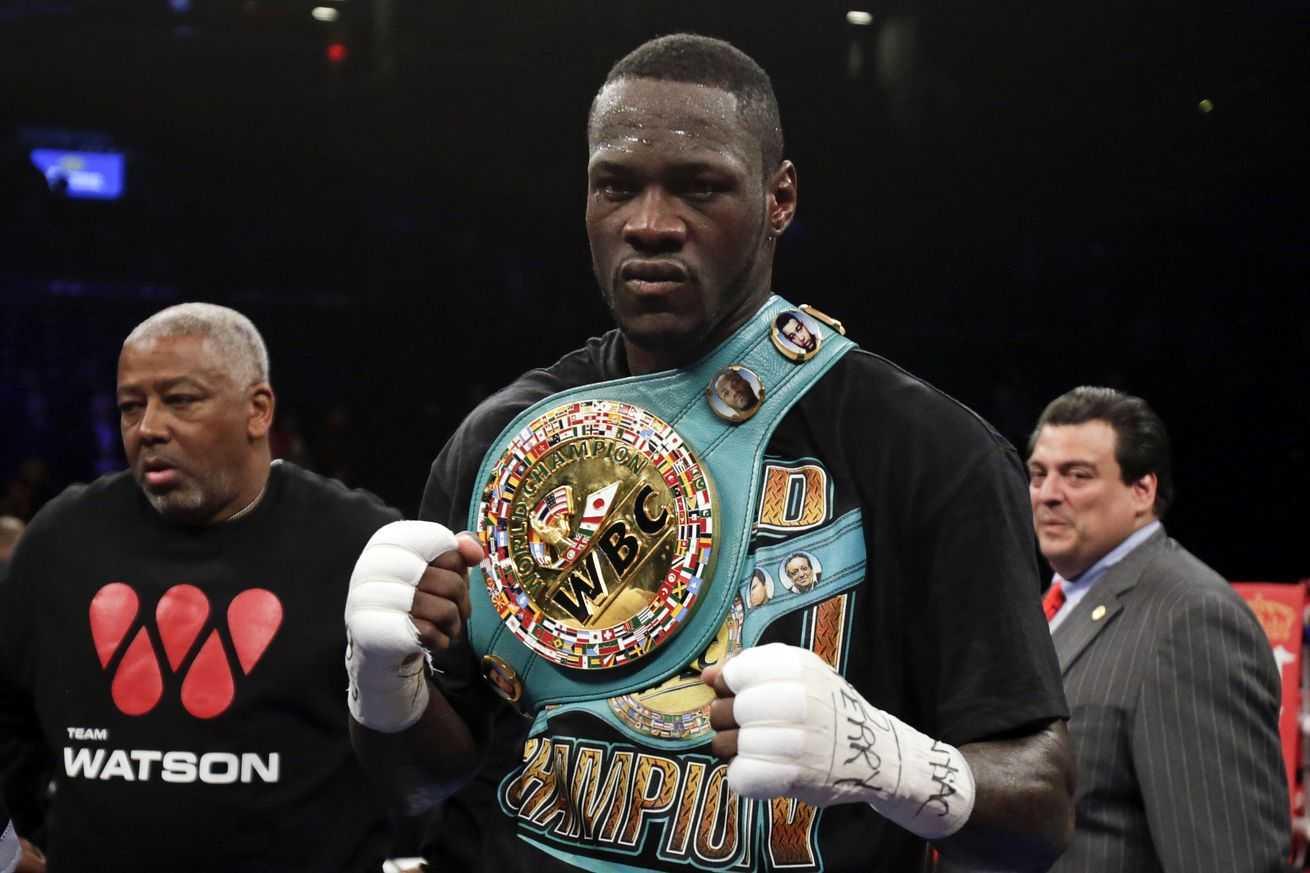 WBC heavyweight champion Wilder to face Ortiz Nov. 4