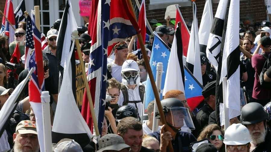 Violence erupted at a White Nationalist rally in Virginia on Saturday