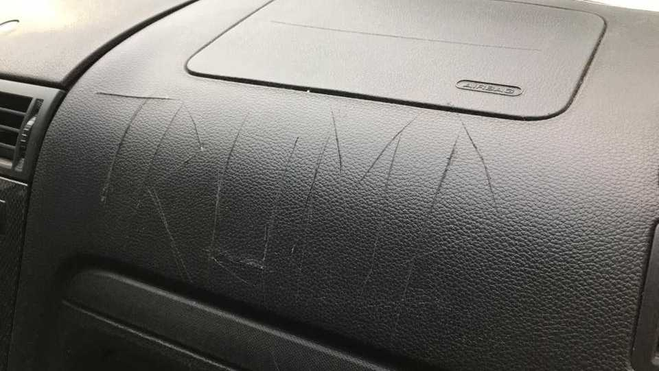 Portland woman says car vandalized over bumper sticker