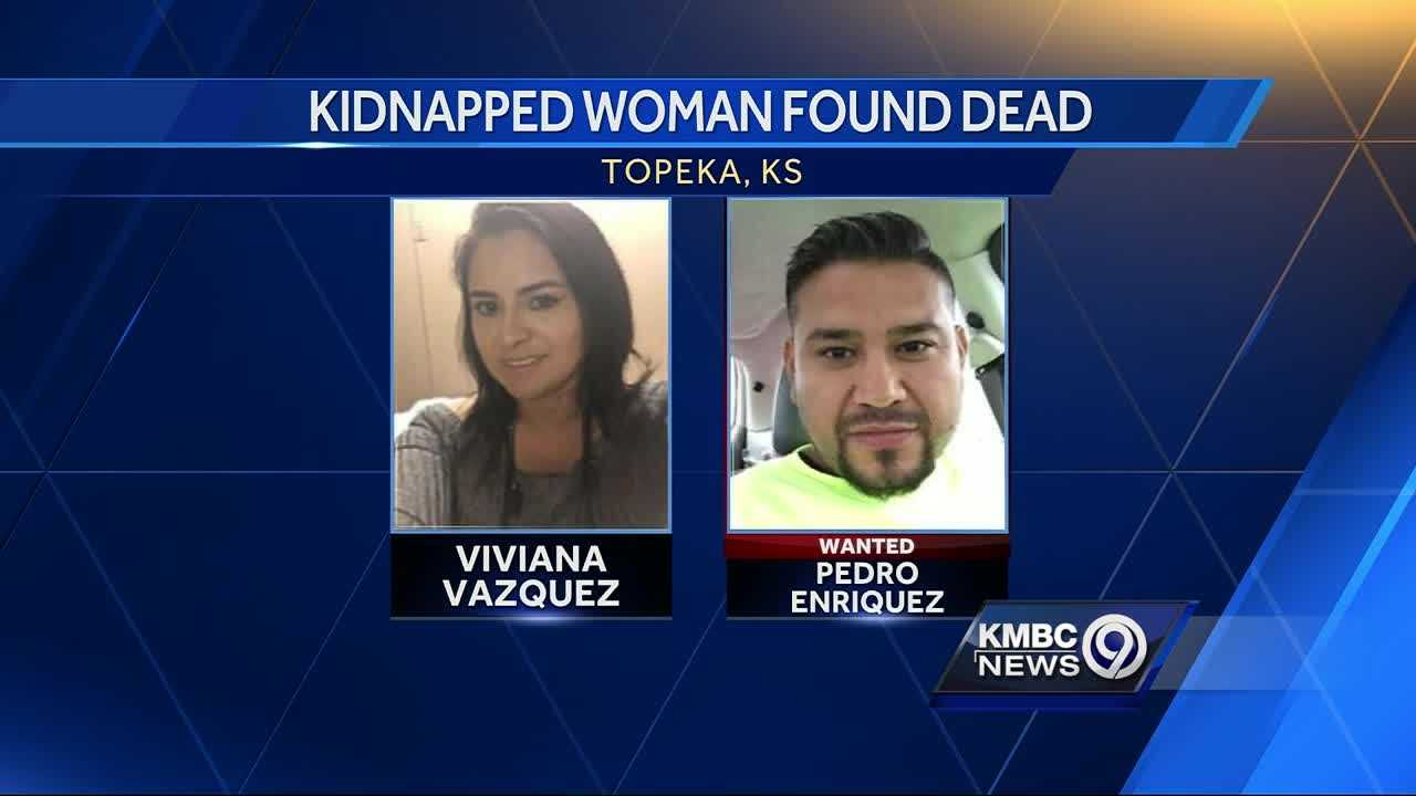 Body of kidnapped Topeka woman found; husband still missing
