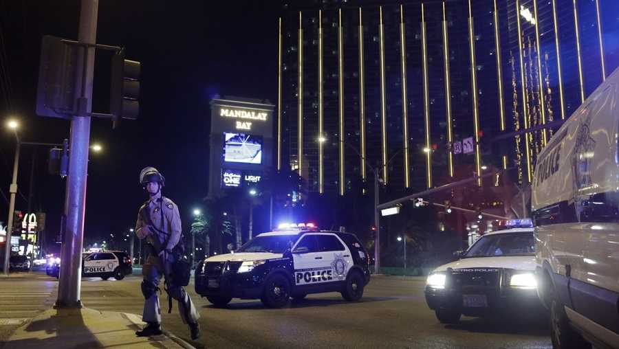 Police respond to Las Vegas shooting