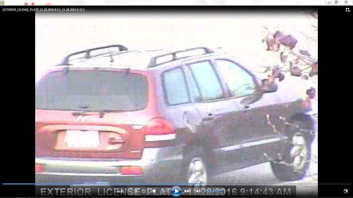York Wal-Mart robbery vehicle