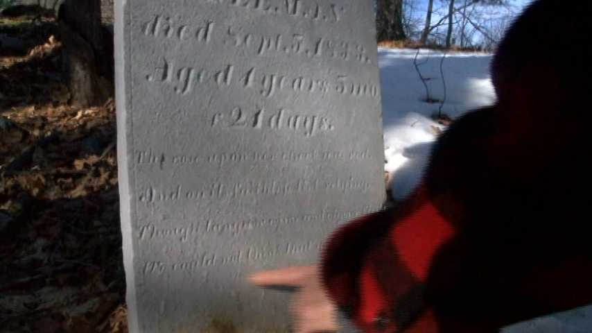 Lost Vermont cemetery found in backyard