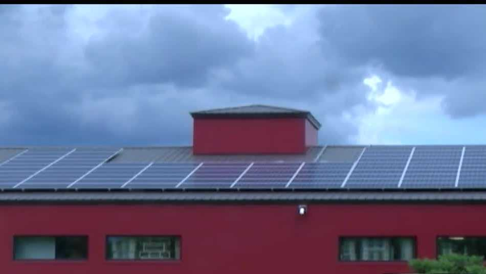 Rock Art Brewery solar panels