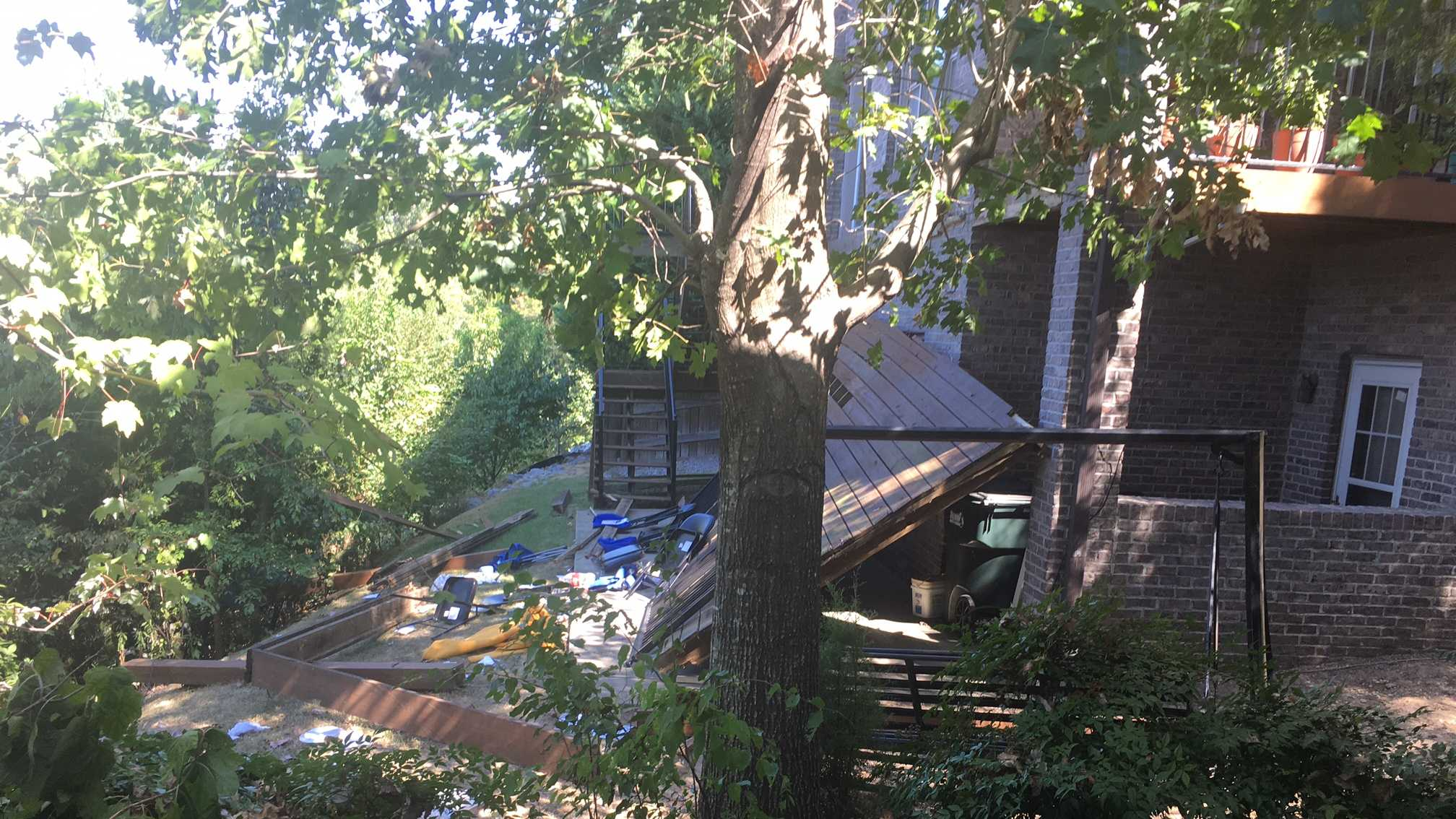 Vestavia Deck Collapse