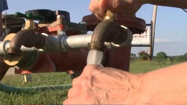 Vicksburg water faucet