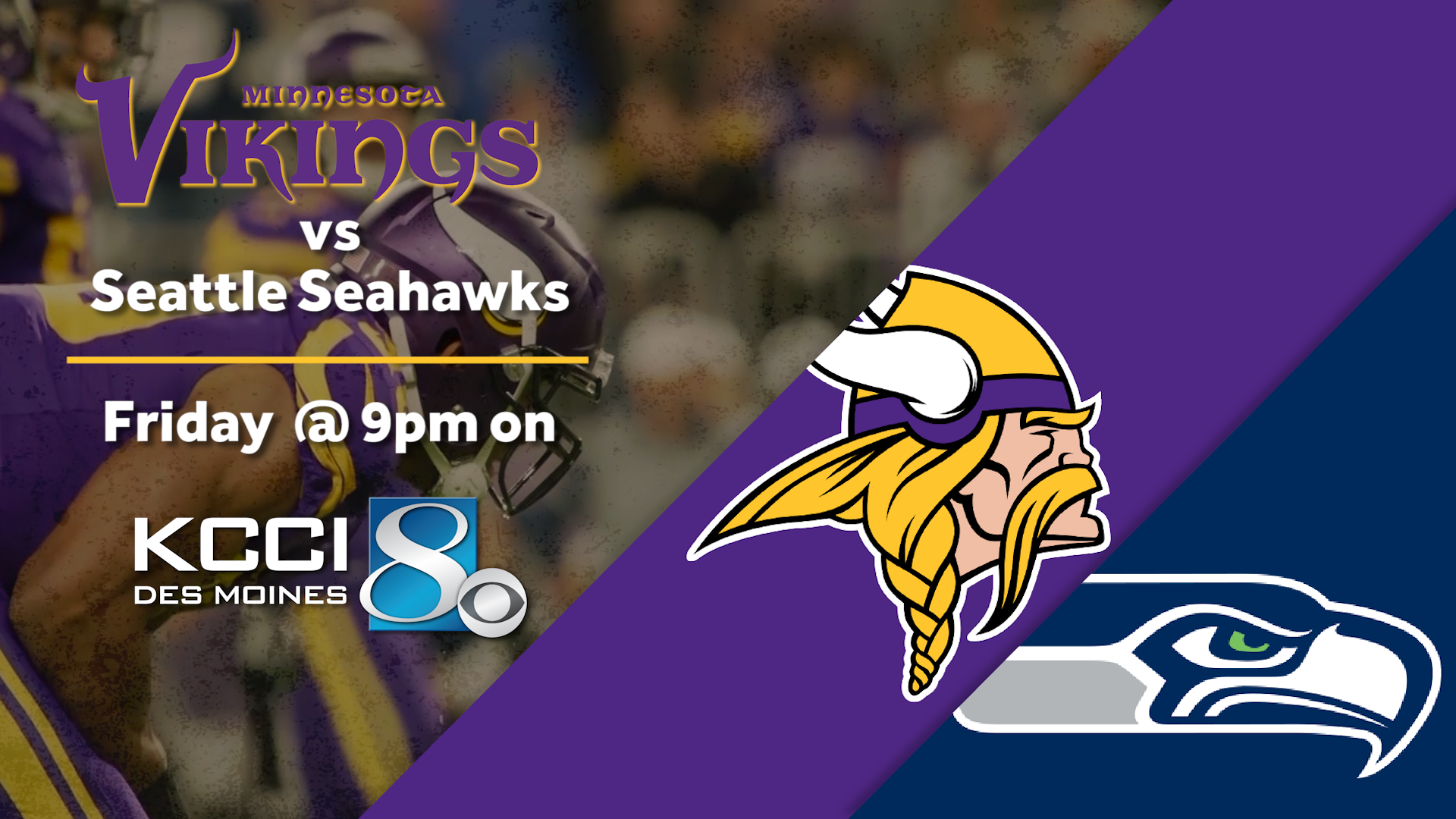 What to Watch For Tonight: Vikings vs. Seahawks