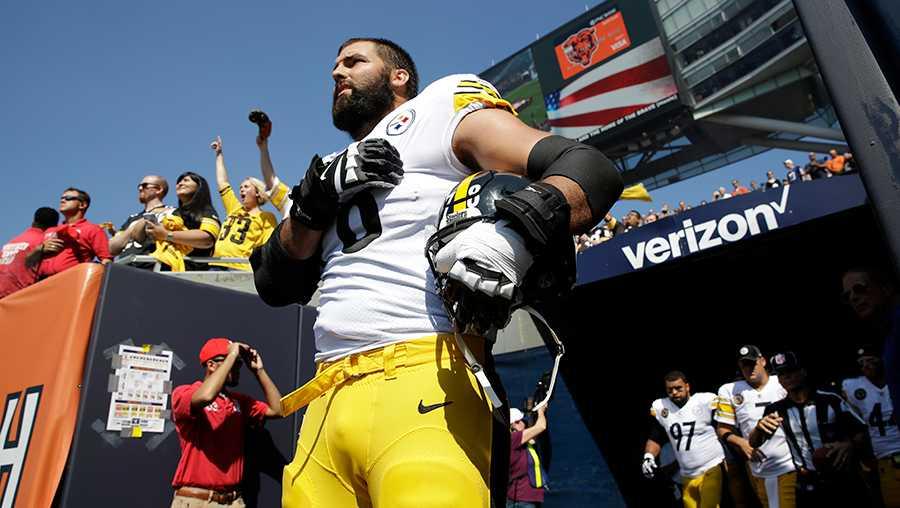 Pittsburgh Steelers Alejandro Villanueva
