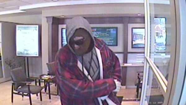 Surveillance image: Dollar Bank robbery