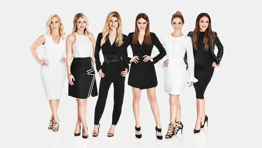 """Hockey Wives,"" Season 3: Erica Lundmark, Emilie Blum, Catherine LaFlamme, Maripier Morin, Martine Auclair-Vlasic, Vanessa Vandal"