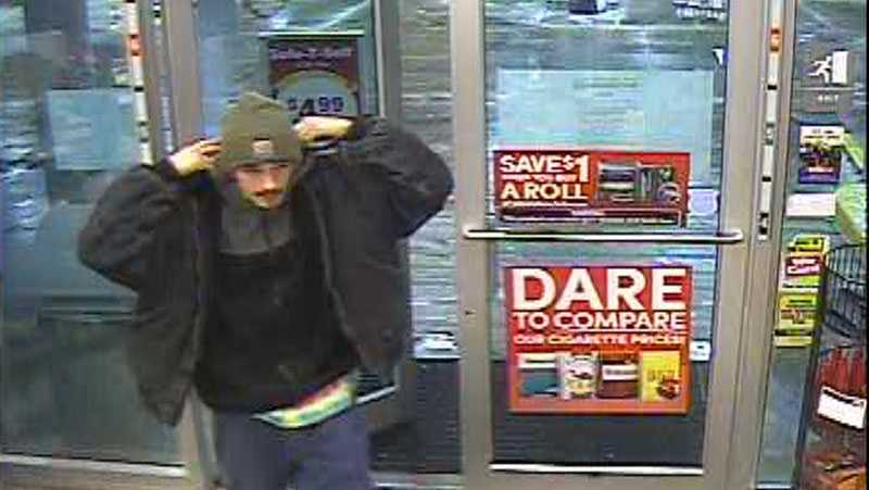 Surveillance image from GetGo in East Huntingdon Township