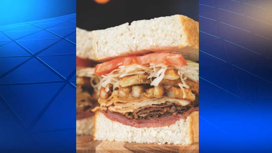 """The Captain"" sandwich is named for Pittsburgh Penguins star Sidney Crosby."