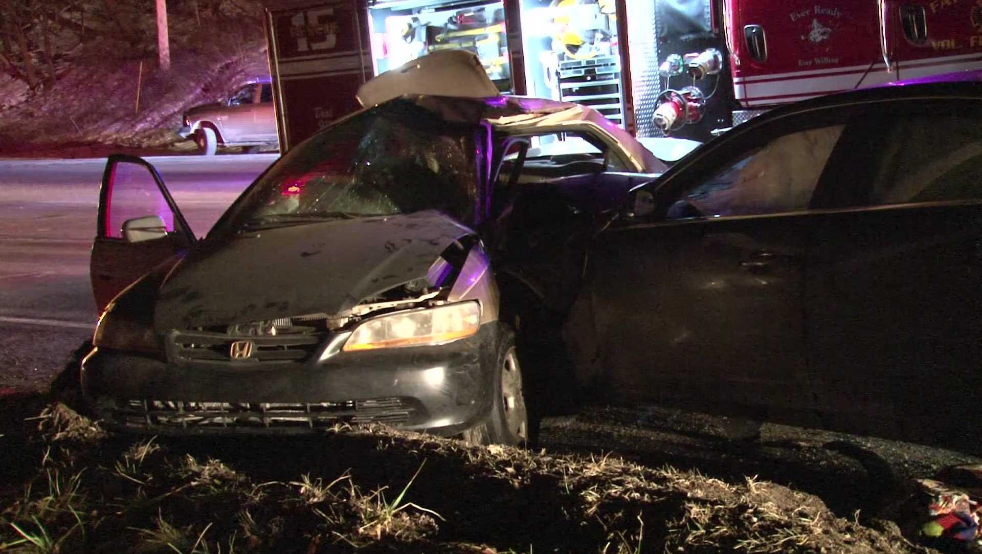 Fatal crash on Route 40