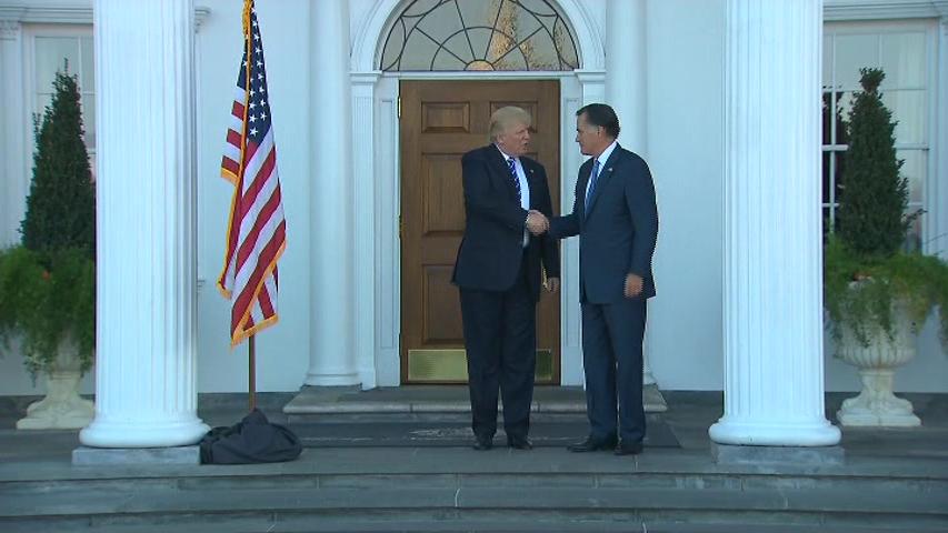 Romney Trump Meet 11.19