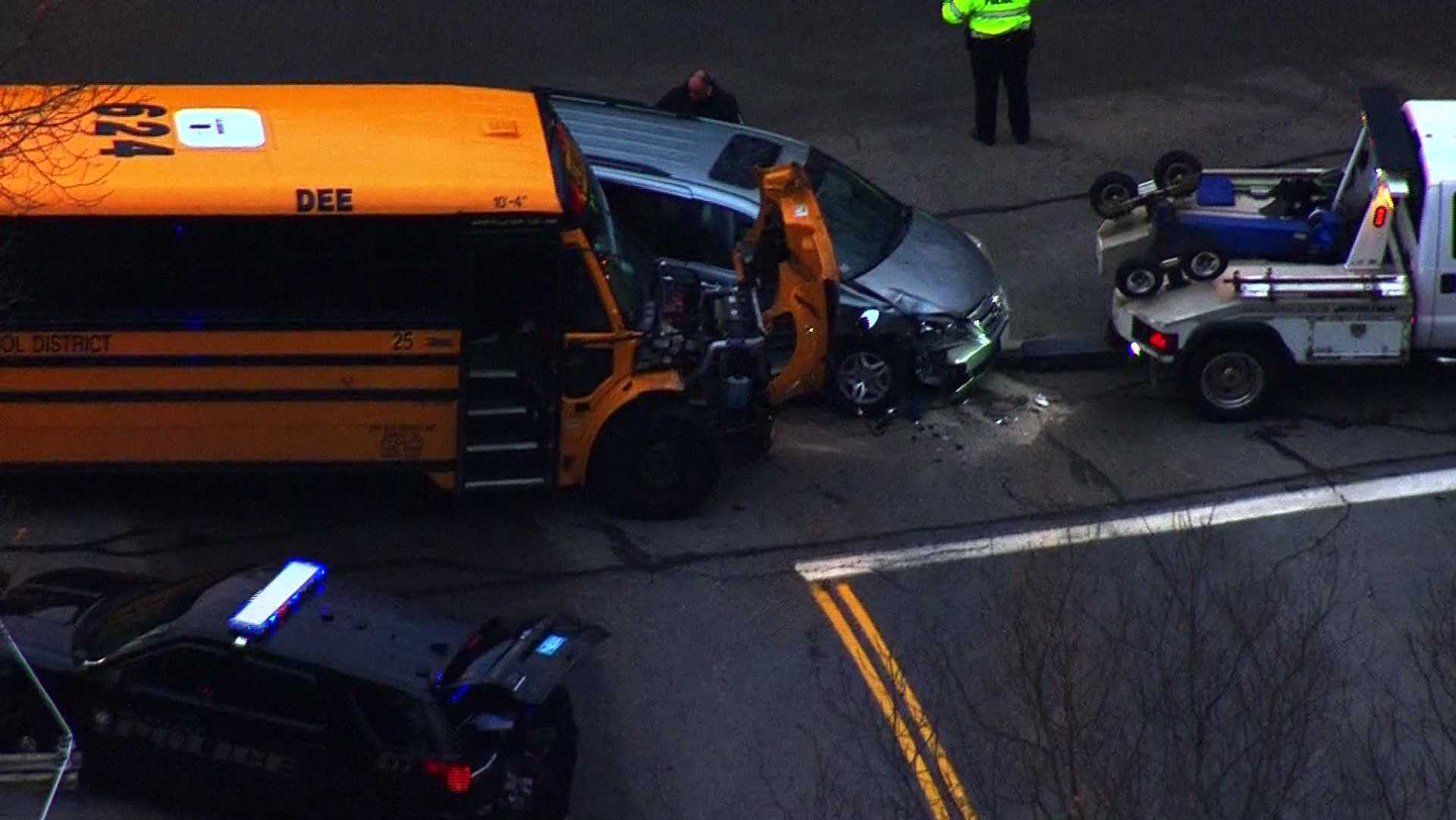 Westford bus crash