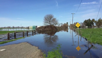 Dozens of residents in Point Pleasant were still out of their homes Sunday, Feb. 12, 2017, due to flooding.