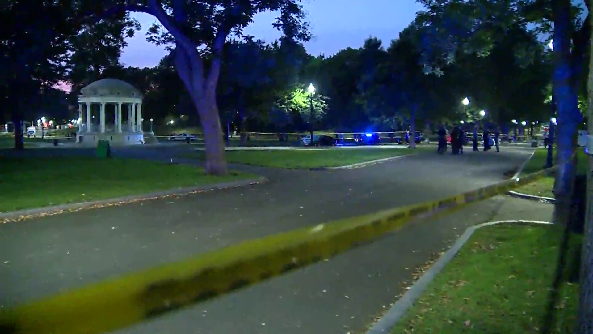 Boston Common Shooting Leaves Man Injured