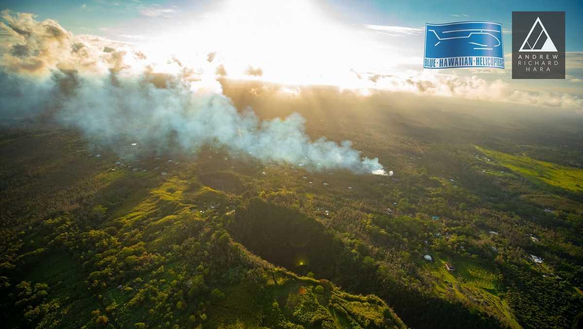 6.9 magnitude earthquake strikes Hawaii after volcano eruption