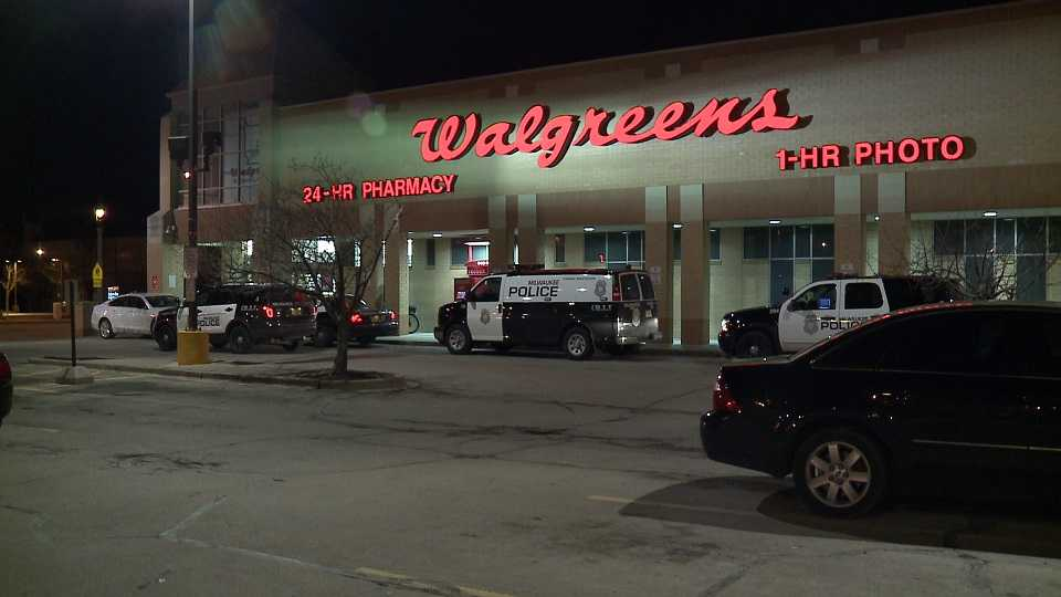 Walgreens robbery at 35th & Wisconsin in Milwaukee
