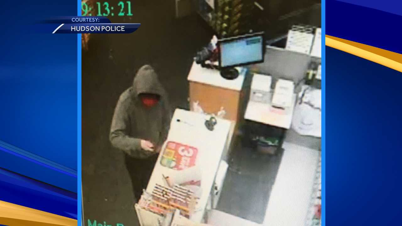 Hudson Walgreens robber sought by police