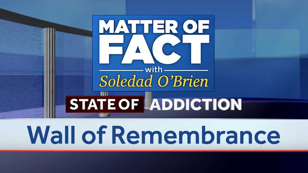 Wall of Remembrance: Paying tribute to loved ones lost to the opioid crisis
