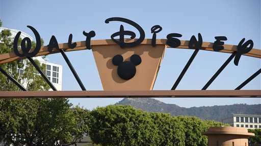 The entrance to Walt Disney Studios is pictured on Tuesday, Aug. 30, 2016, in Burbank, Calif.