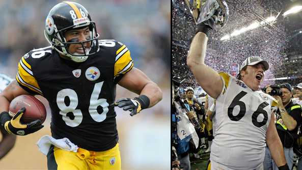 Hines Ward and Alan Faneca
