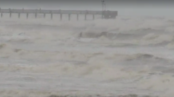 Tropical Depression Cindy makes landfall with maximum ...