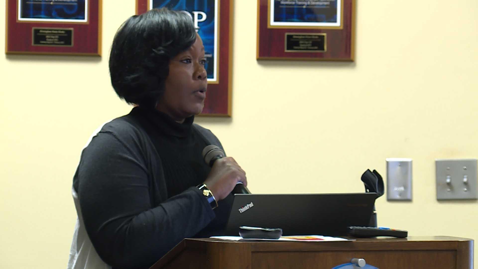 Sheila Tyson attacks Jefferson County Commission