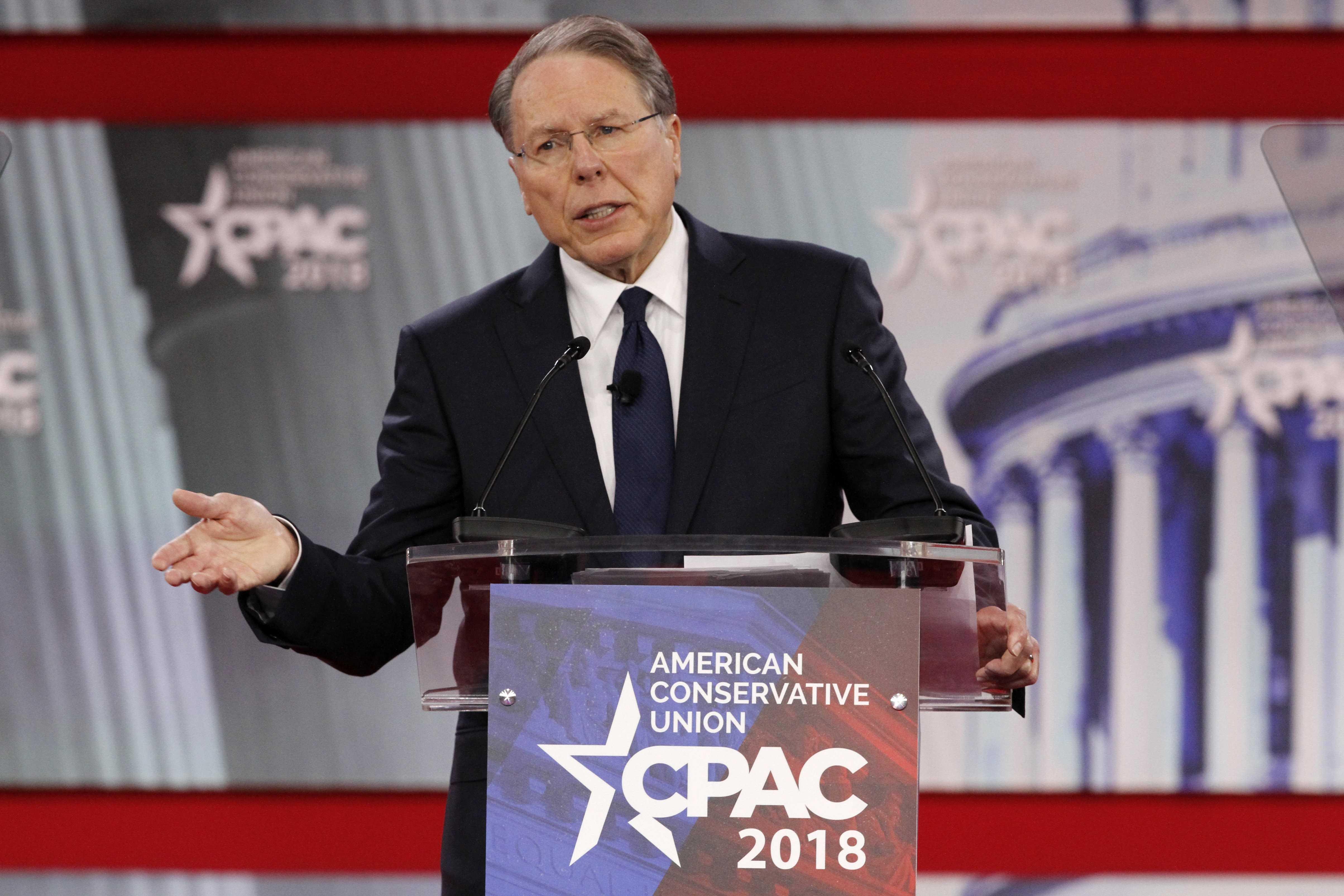 NRA's Wayne LaPierre hits Democrats, socialism in CPAC speech